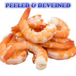 Peeled and Deveined