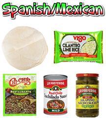 ETHNIC - SPANISH/MEXICAN