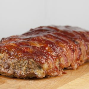 Bacon Wrapped Meat Loaf